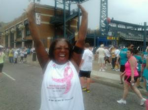 Race for the Cure Detroit, May 2012